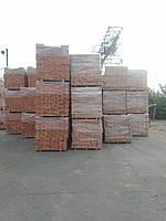 Кирпич керамический рядовой красный забутовочный полнотелый марки М75,100 производитель (смт. Козельщина)