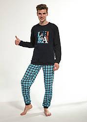 Пижама подростковая, для мальчика. Польша. Cornette 967/36 LISBOA