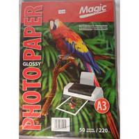 Фото бумага Magic A3 Glossy Photo Paper 220g  (50sheets)