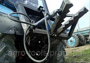 Корчувальник, выкорчевыватель дерев і пеньків на МТЗ 80, ЮМЗ і їх аналоги, фото 2