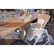 Стільчик для годування CARRELLO Caramel CRL-9501/3 Aqua Green Гарантія якості Швидка доставка, фото 7