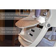 Стільчик для годування CARRELLO Caramel CRL-9501/3 Aqua Green Гарантія якості Швидка доставка, фото 8