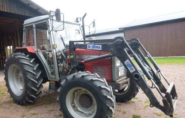 Трактор Massey Ferguson 375-4+L1, 1989 г.в.