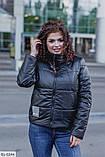Куртка женская плащёвка+подкладка  размер 48-50, 52-54, 56-58, 60-62, фото 6