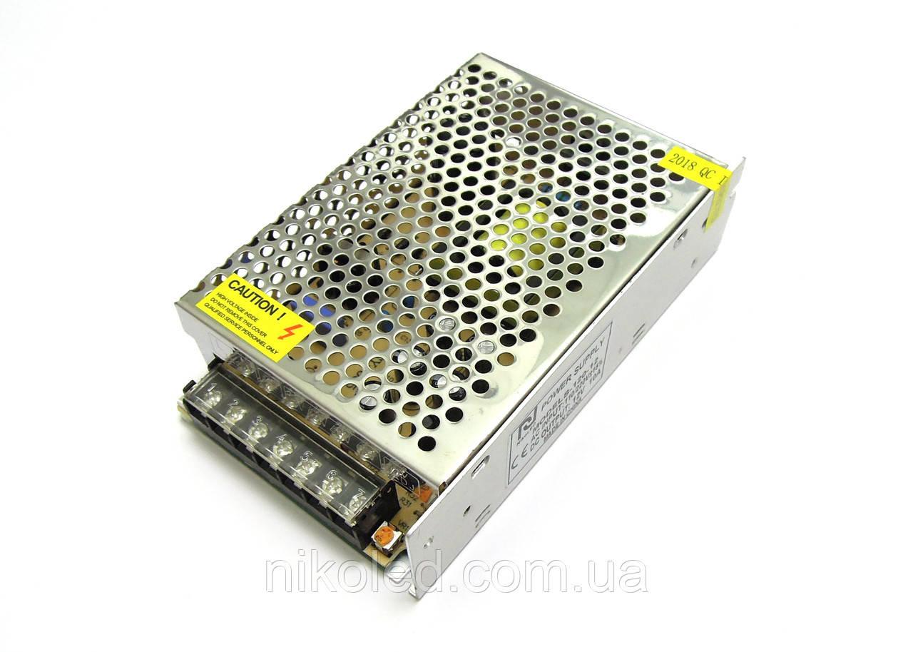 Блок питания негерм 220VAC 12VDC 10A S