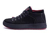 Мужские зимние кожаные ботинки ZG Black Exclusive, фото 1