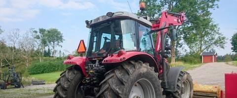 Трактор Massey Ferguson 5480 + L1, 2011 г.в.