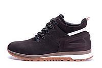 Мужские зимние кожаные ботинки ZG Chocolate Crossfit, фото 1