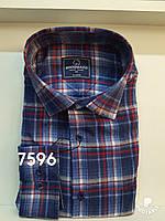 Мужская рубашка кашемир Brossard-7596