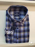 Мужская рубашка кашемир Brossard-7595