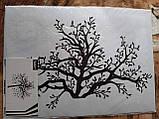 Наклейка настенная Melinera дерево/бабочки - 69*49,5см, фото 3