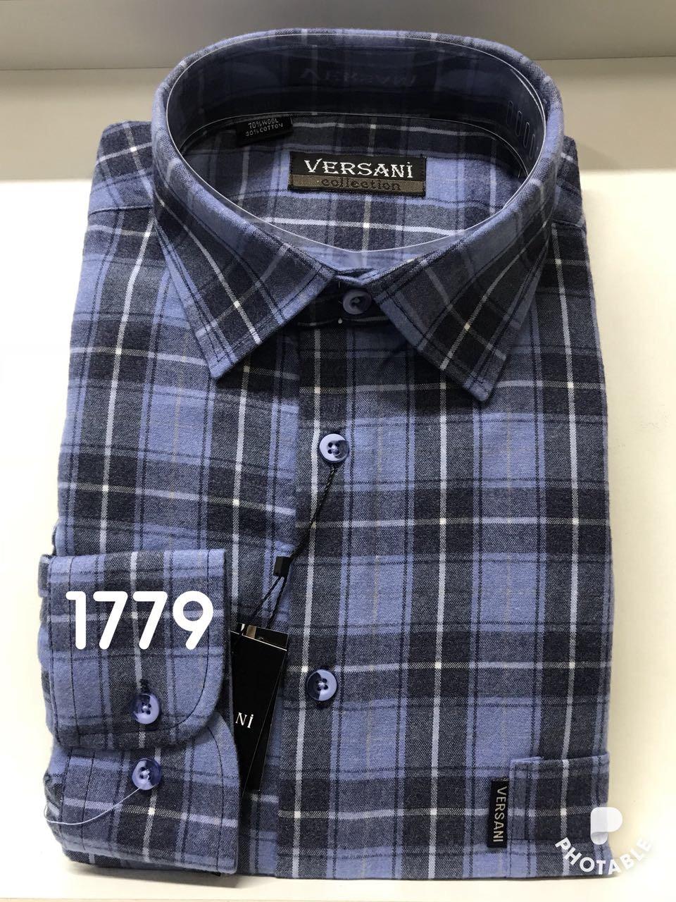 Мужская рубашка кашемир VERSANI - 1779