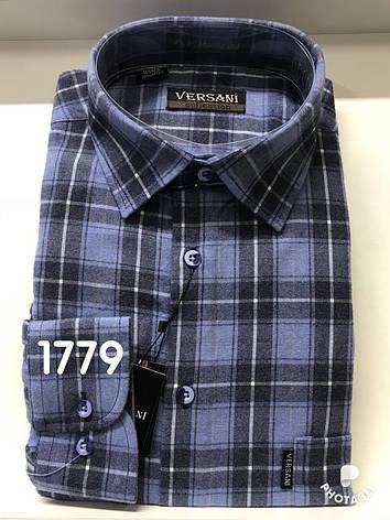 Мужская рубашка кашемир VERSANI - 1779, фото 2