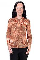 Красивая деловая женская блуза