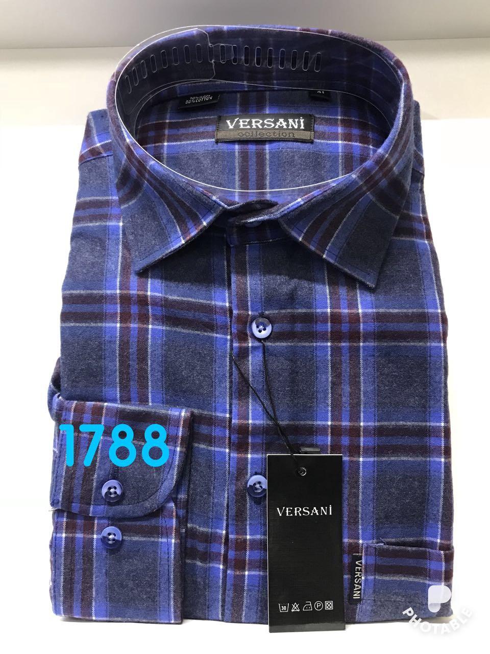 Мужская рубашка кашемир VERSANI-1788