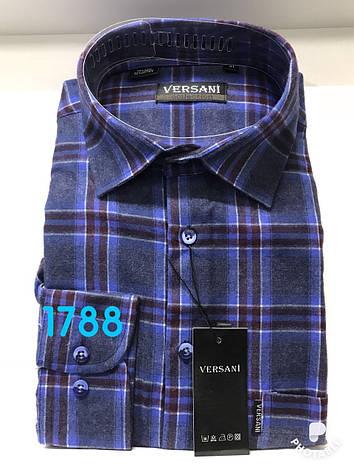 Мужская рубашка кашемир VERSANI-1788, фото 2