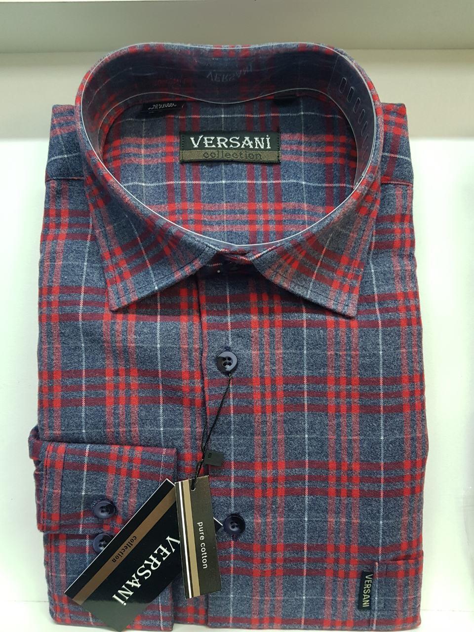 Мужская рубашка кашемир VERSANI