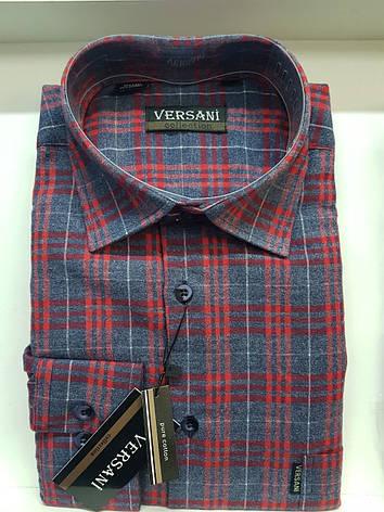 Мужская рубашка кашемир VERSANI, фото 2