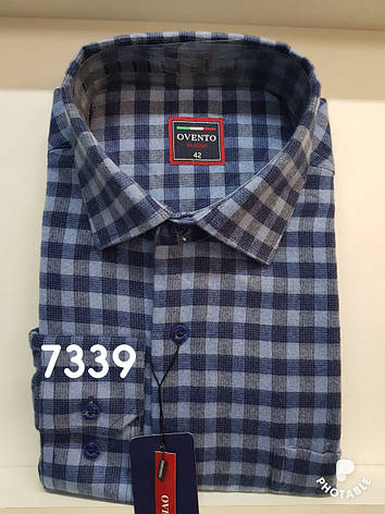 Мужская рубашка кашемир Ovento, фото 2
