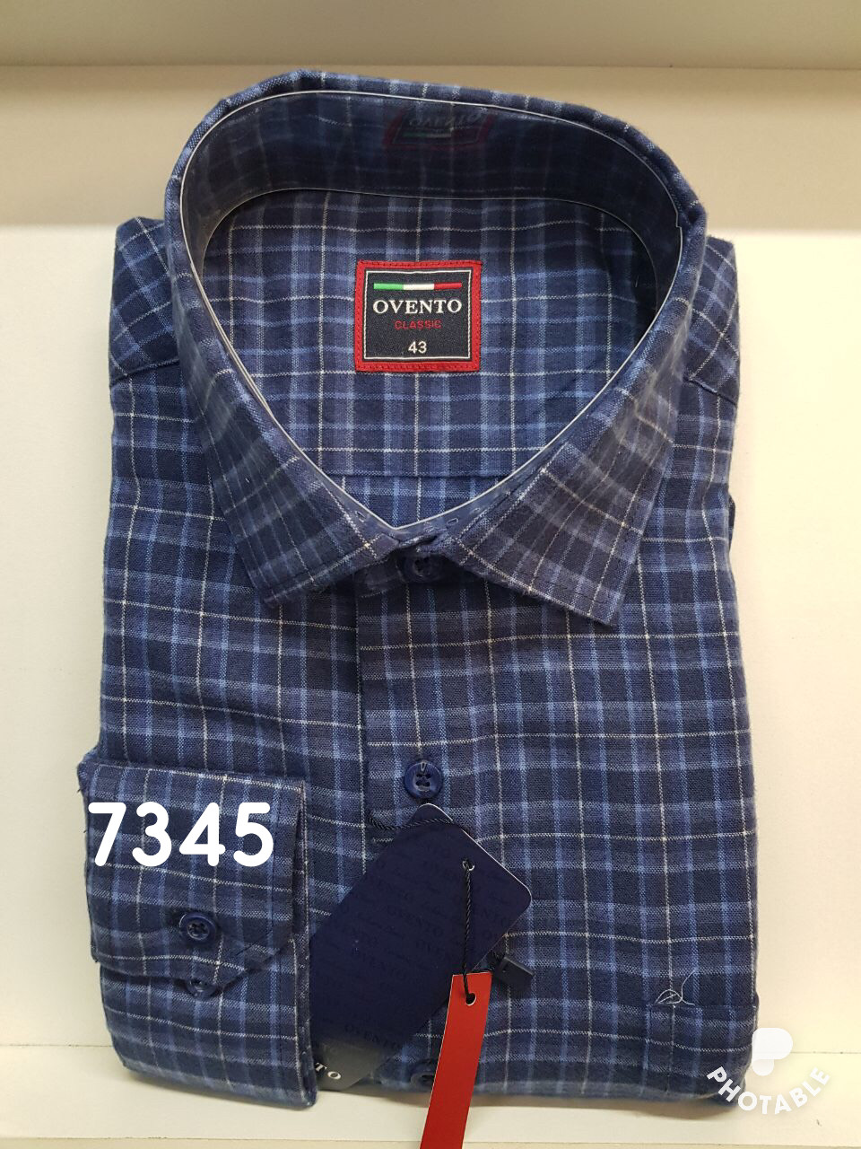 Мужская рубашка кашемир Ovento