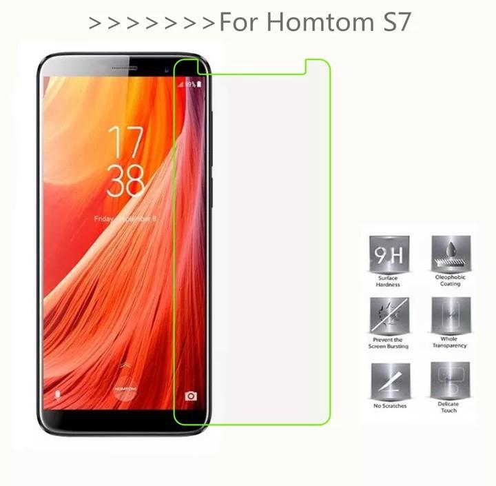 Захистне закалене скло для Homtom S7