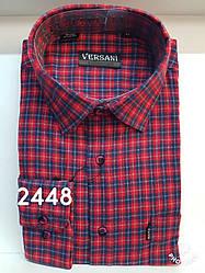 Мужская рубашка кашемир VERSANI-2448