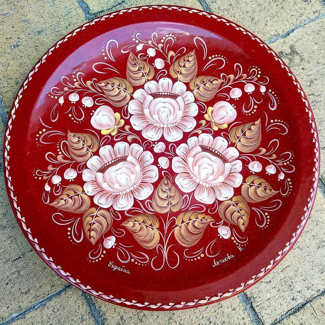 Сувенірна декоративна тарілка