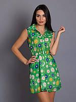 Стильное платье с накладными клапанами