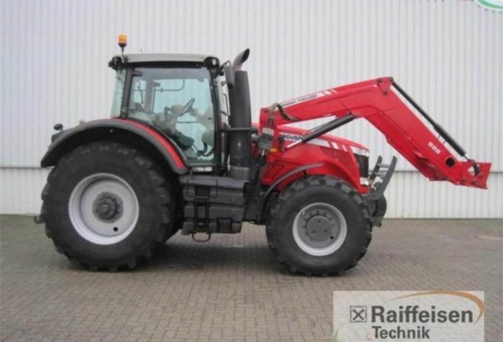 Трактор Massey Ferguson 8670 Dyna-VT E1, 2011 г.в.