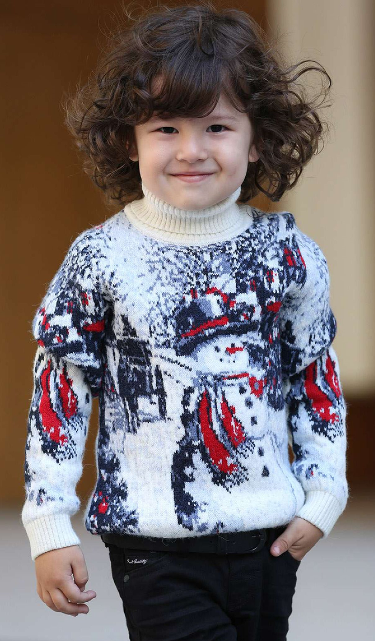 Свитер детский Pulltonic Снеговик