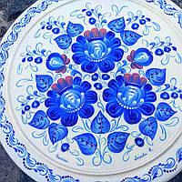 Сувенірна декоративна тарілка, фото 1