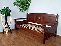 """Детский диван кровать из натурального дерева """"Орфей Премиум"""""""