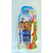 Щетка зубная для детей AQUARELLE+ подарок (Машинка)