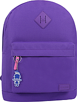 Стильный рюкзак, сумка Bagland 17л., для прогулок и спорта (фиолетовый), фото 1