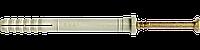 Дюбель UCX с ударным шурупом, с цилиндрическим буртиком   UCX Дюбель 6х45/15 нейлон швид. монтаж  [92U10000092U160450]