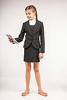 Пиджак школьный классический для девочек, размеры 34, 36, 38, 40. (П-67)