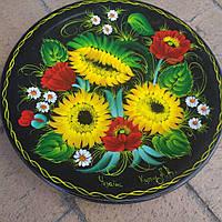 Декоративна тарілка-сувенір розписана вручну, фото 1