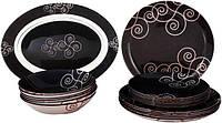 Сервиз столовый Simply Marah (черный) 19пр Luminarc N1186