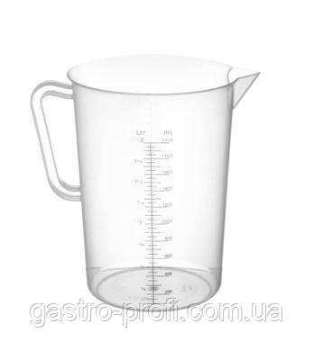 Кувшин мерный/ стакан мерный полипропиленовый 1 л Hendi 567203