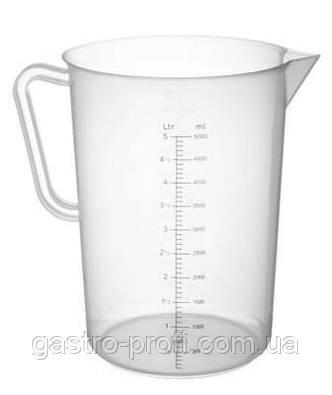 Кувшин мерный/ стакан мерный полипропиленовый 1 л Hendi 567203, фото 2