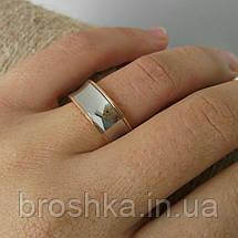 Литые кольца Bvlgari с белой и розовой позолотой, фото 3