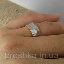 Литые кольца Bvlgari с белой и розовой позолотой, фото 2