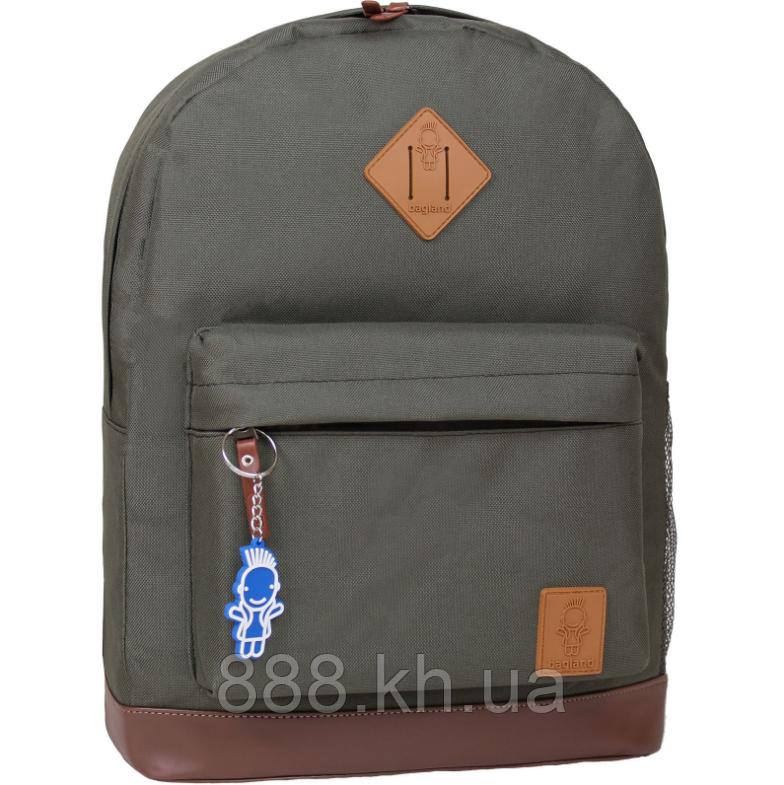Стильный рюкзак, сумка Bagland 17л., для прогулок и спорта (хаки)