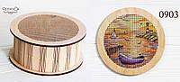 """Набір для вишивання хрестиком на дерев'яній основі """"Човен"""", фото 1"""
