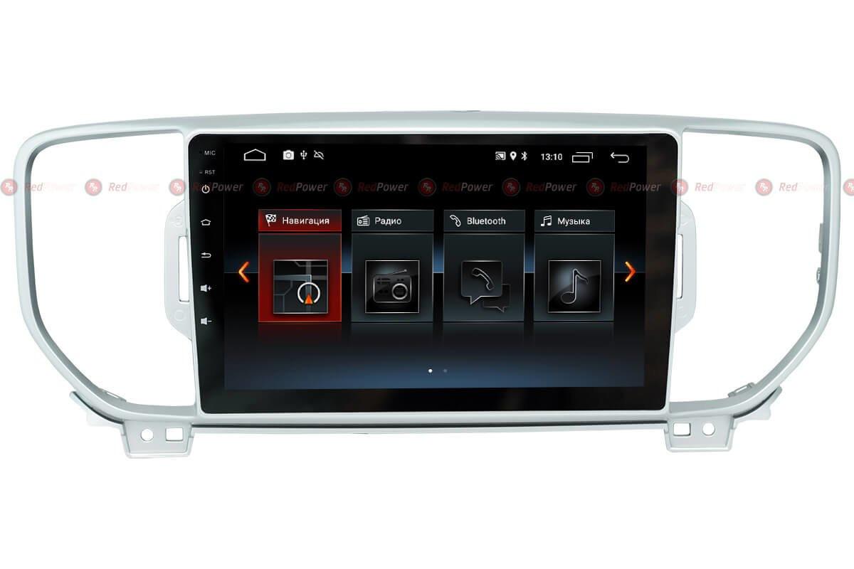 Штатная автомагнитола Redpower RP30174IPS (Kia Sportage New)