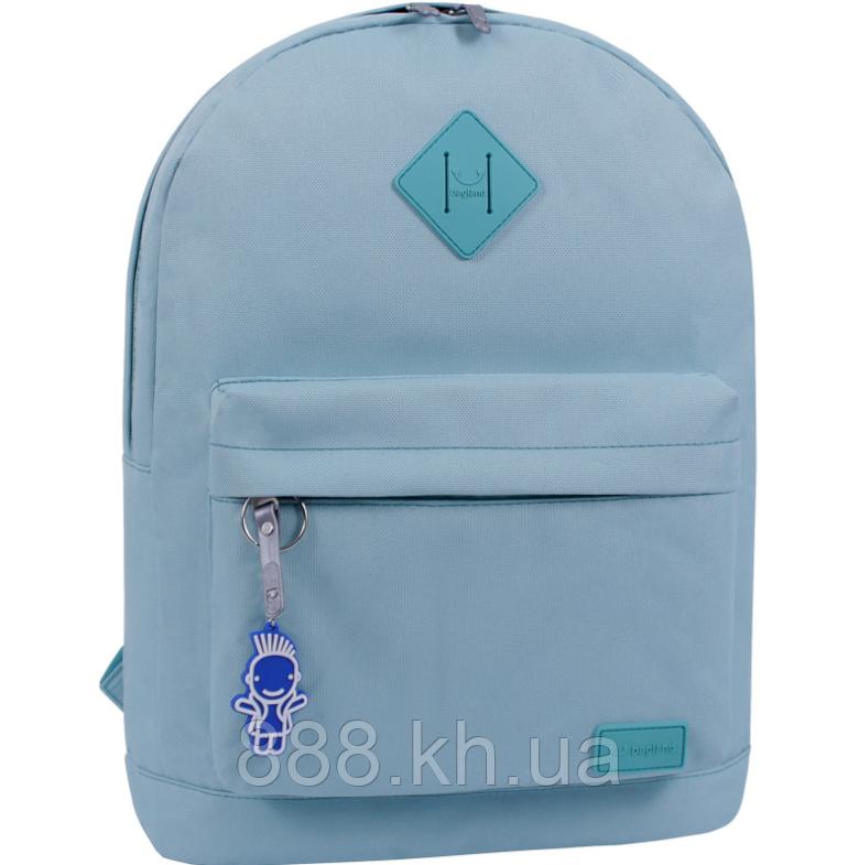 Стильный рюкзак, сумка Bagland 17л., для прогулок и спорта (бирюзовый)