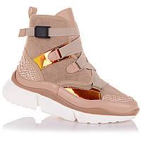 Демисезонные ботинки с яркими вставками для девочек NBB X-kids/FrreHeart 12.3.150 (36-40)