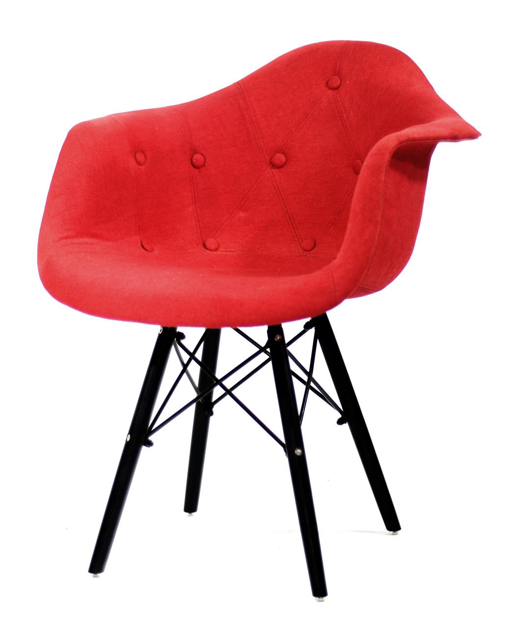 Крісло Leon BK Віскоза, червоний