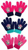 Перчатки для девочек оптом, DISNEY, 10x13 см,  № MIN-A-GLOVES-82