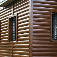 Металлосайдинг Блок Хаус (под дерево) по низким ценам от производителя
